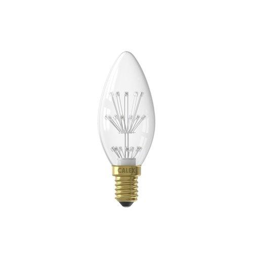 Calex Calex Pearl LED Lampe - E14 - 70 Lumen - Vintage Lampe