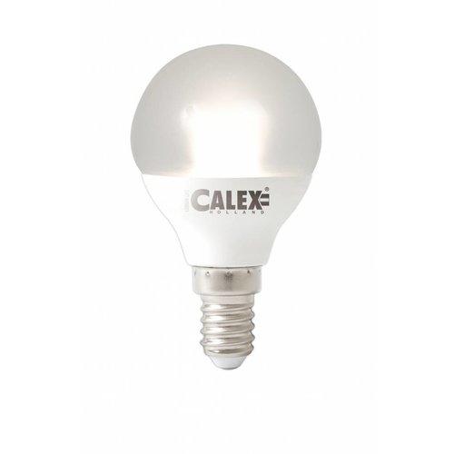 Calex Calex Spherical LED Lampe Vario - E14 - 380 Lm - Weiß Silver - Vintage Lampe