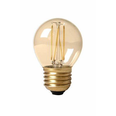 Calex Spherical LED Lampe Ø45 - E27 - 200 Lm - Gold Finish - Vintage Lampe