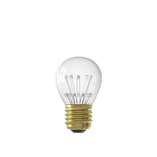 Calex Calex Pearl LED Lampe - E27 - 70 Lumen - Vintage Lampe