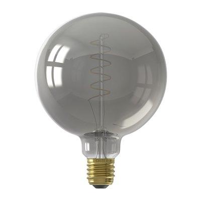 Calex Globe LED Lampe Flex - E27 - 100 Lm - Titan - Vintage Lampe