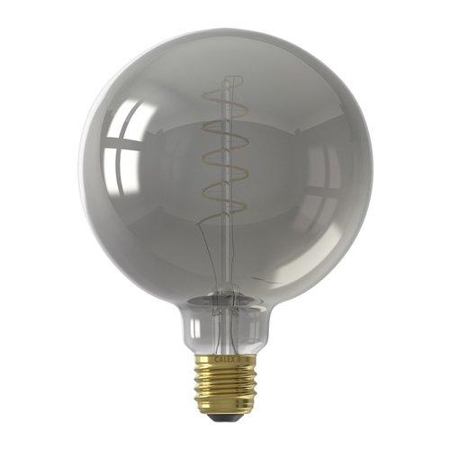 Calex Calex Globe LED Lampe Flex - E27 - 100 Lm - Titan - Vintage Lampe