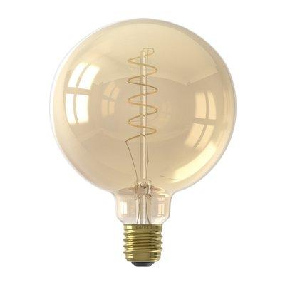 Calex Globe LED Lampe Flex - E27 - 200 Lm - Gold Finish - Vintage Lampe