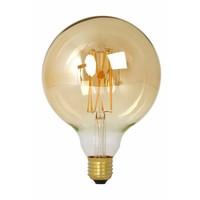 Calex Calex Globe LED Lampe Warm Ø125 - E27 - 320 Lm - Gold / Transparent - Vintage Lampe