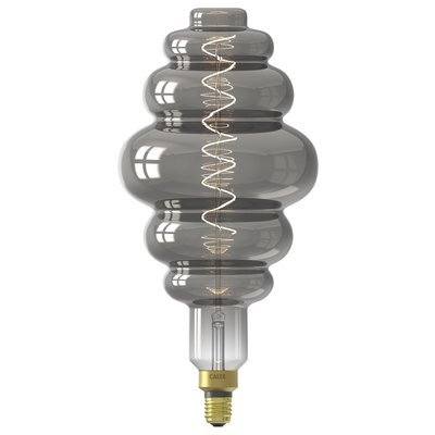 Calex Paris Globe LED Lampe Ø200 - E27 - 100 Lm - Titan - Vintage Lampe