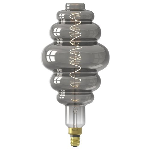 Calex Calex Paris Globe LED Lampe Ø200 - E27 - 100 Lm - Titan - Vintage Lampe