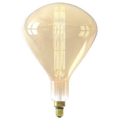 Calex Sydney Globe LED Lampe Ø245 - E27 - 800 Lm - Gold - Vintage Lampe