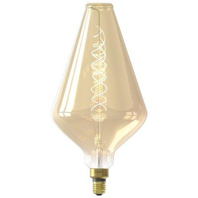 Calex Vienna Globe LED Lampe Ø188 - E27 - 300 Lm - Gold - Vintage Lampe