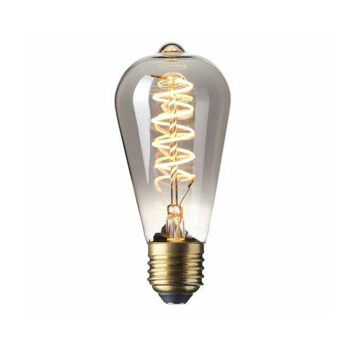 Calex Calex Rustic LED Lampe Flexible - E27 - 100 Lm - Titan - Vintage Lampe