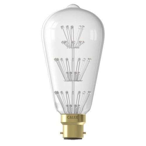 Calex Calex Pearl LED Lampe - B22 - 280 Lumen - Rustikal - Vintage Lampe