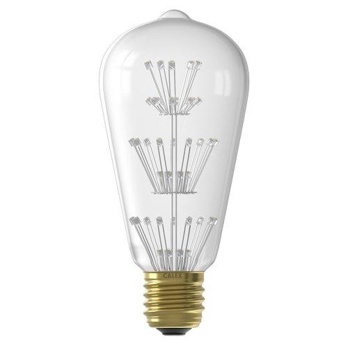 Calex Calex Pearl LED Lampe - E27 - 280 Lumen - Rustikal - Vintage Lampe