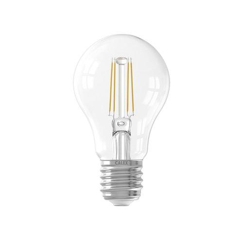 Calex Calex Premium LED Lampe Filament - E27 - 400 / 600 Lm - Silver - Vintage Lampe