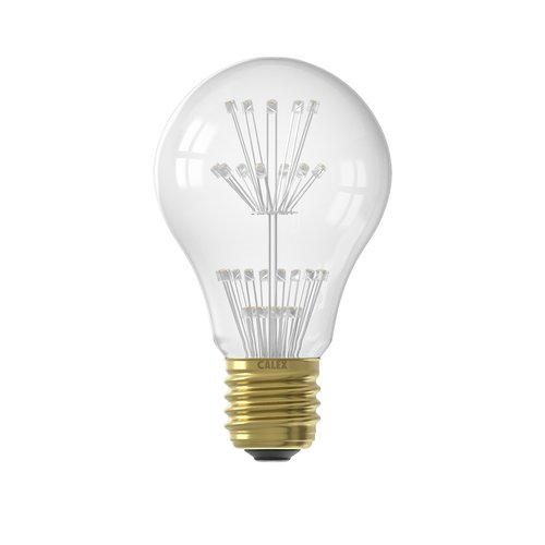 Calex Calex Pearl LED Lampe - E27 - 136 Lumen - Vintage Lampe