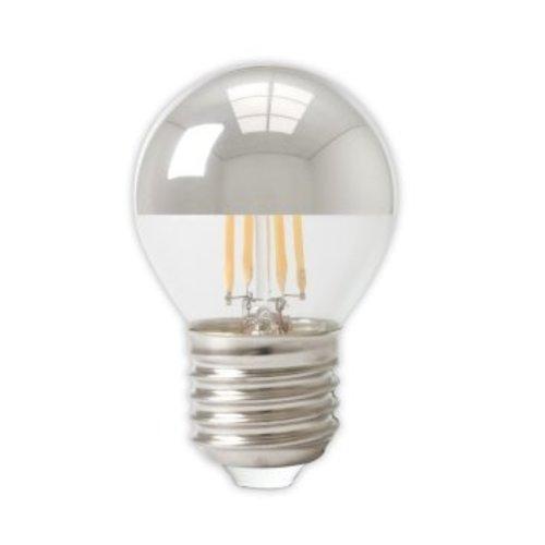 Calex Calex Spherical LED Lampe Warm - E27 -310 Lm - Silver - Vintage Lampe