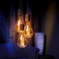 Calex Calex giant Splash LED Filament - E40 - 1100 Lm - Gold - Vintage Lampe