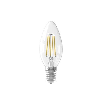 Calex Kerze LED Lampe Filament - E14 - 350 Lm - Silver - Vintage Lampe