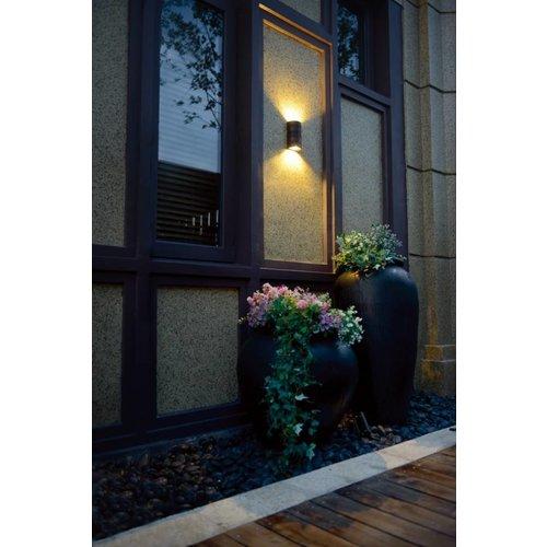 Beleuchtungonline.de LED Wandleuchte - Fresno - Schwarz