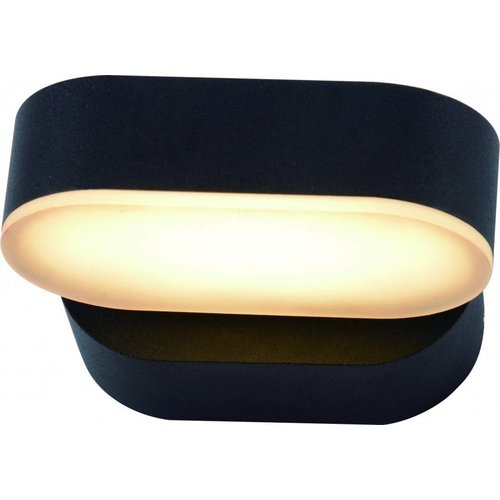 Beleuchtungonline.de LED Wandleuchte - Madrid - Schwarz