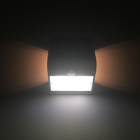 Beleuchtungonline.de Solar Gartenleuchte mit Bewegungssensor - 3W - 4000K - 400 Lumen - Weiß