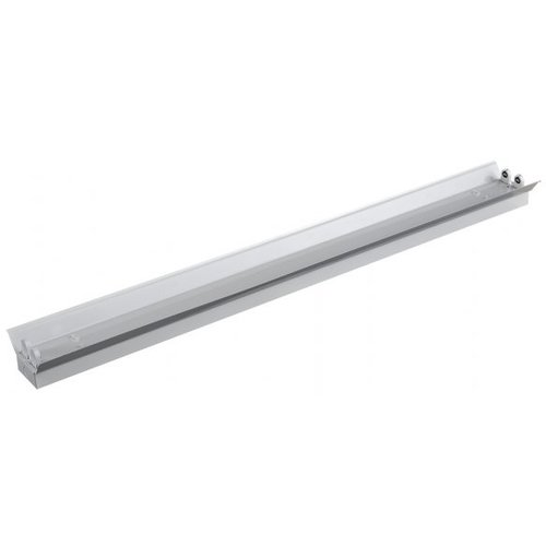 Beleuchtungonline.de Dubbele LED TL Armatuur Reflector IP22 - 150CM