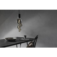 Calex Calex Alicante LED Lampe Ø125 MM - E27 - 60 Lumen - Titan - Vintage Lampe