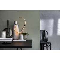 Calex Calex Ypsilon  LED Lampe Ø215  - E27 - 130 Lumen - Titan - Vintage Lampe