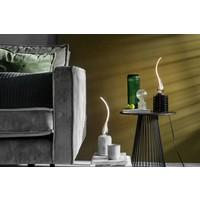 Calex Calex Lamda LED Lampe Ø45  - E27 - 60 Lumen - Titan - 2 Stück - Vintage Lampe