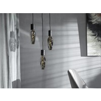 Calex Calex Barcelona LED Lampe Ø110 - E27 - 60 Lumen - Titan - Vintage Lampe