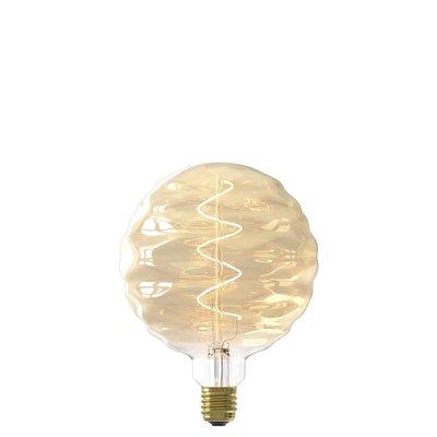 Calex Bilbao LED Lampe Ø150 - E27 - 140 Lumen - Gold - Vintage Lampe