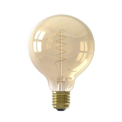 Calex Premium Globe LED Lampe Ø95 - E27 - 200 Lumen - Gold Finish - Vintage Lampe