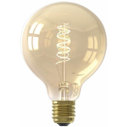 Calex Calex Premium Globe LED Lampe Ø95 - E27 - 200 Lumen - Gold Finish - Vintage Lampe