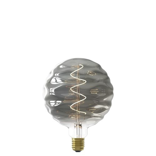 Calex Calex Bilbao LED Lampe Ø150 - E27 - 140 Lumen - Titan - Vintage Lampe