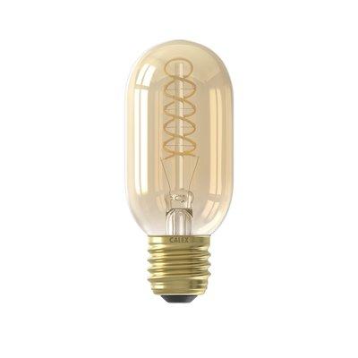 Calex Premium Tubular LED Lampe Ø45 - E27 - 200 Lumen - Gold Finish - Vintage Lampe
