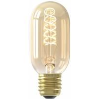 Calex Calex Premium Tubular LED Lampe Ø45 - E27 - 200 Lumen - Gold Finish - Vintage Lampe