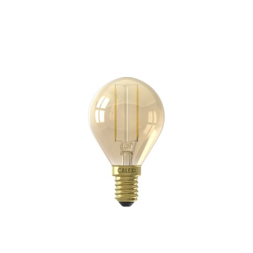 Calex Calex Spherical LED Lamp  - E14 - 130 Lumen - Goud Finish