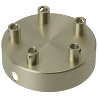 Beleuchtungonline.de Calex Deckenkappe Bronze – 5 Schnüre - Vintage Lampe