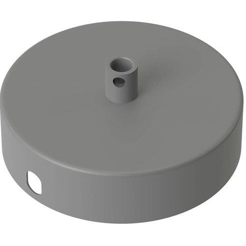 Beleuchtungonline.de Calex Deckenkappe Beton Grau – 1 Schnur - Vintage Lampe