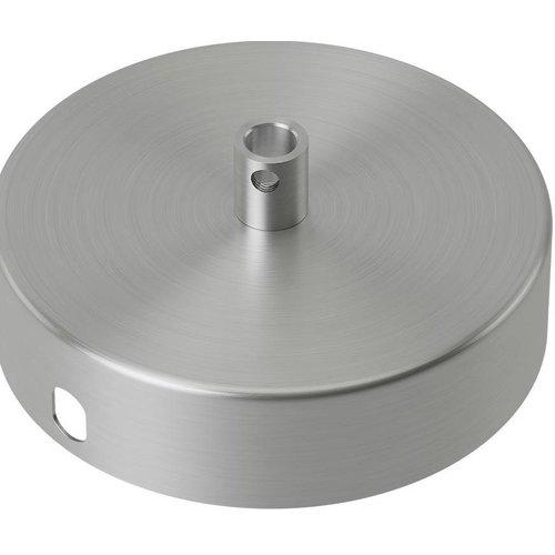 Beleuchtungonline.de Calex Deckenkappe Nickel – 1 Schnur - Vintage Lampe
