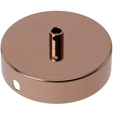 Calex Deckenkappe Poliertes Kupfer – 1 Schnur - Vintage Lampe