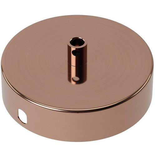 Beleuchtungonline.de Calex Deckenkappe Poliertes Kupfer – 1 Schnur - Vintage Lampe