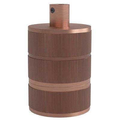 Calex Lampenhalter E27 – Ø48mm – H63mm - Kupfer - Vintage Lampe