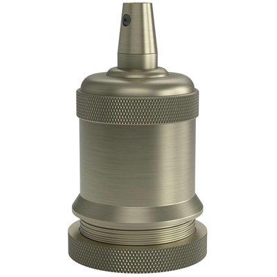 Calex Lampenhalter E27 – Ø50mm – H71mm - Bronze - Vintage Lampe