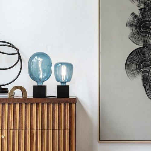 Beleuchtungonline.de Calex Lampenhalter E27 – Lampenhalter mit Schnur – Beton Grau - Vintage Lampe