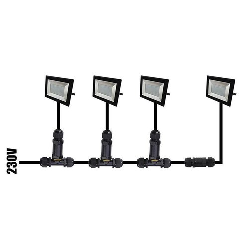 Beleuchtungonline.de LED Fluter 50W - 4500 Lumen - 6400K