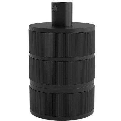 Calex Lampenfassung E27 - Ø48mm - H63mm - Schwarz