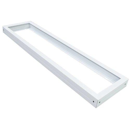 Beleuchtungonline.de LED Panel Aufbau 120x30 - Aluminium - Weiß