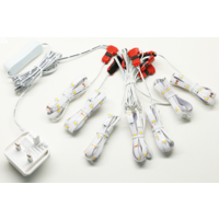 Beleuchtungonline.de LED Treppenbeleuchtung für 15 Stufen