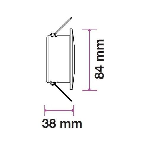 Philips LED Einbaustrahler Philips - Barcelona - GU10 - Dimmbar