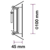 Philips LED Einbaustrahler Philips Modesto - GU10 - Dimmbar