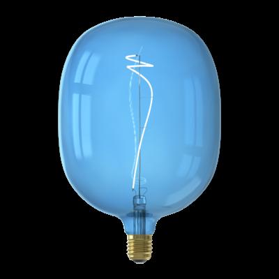 Calex Avesta  Ø170 - E27 - 80 Lumen – Blau - Vintage Lampe